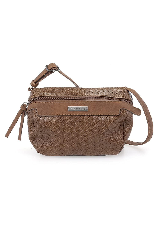 Tamaris Tasche AVA Crossbody Bag Schultertasche Cognac Comb