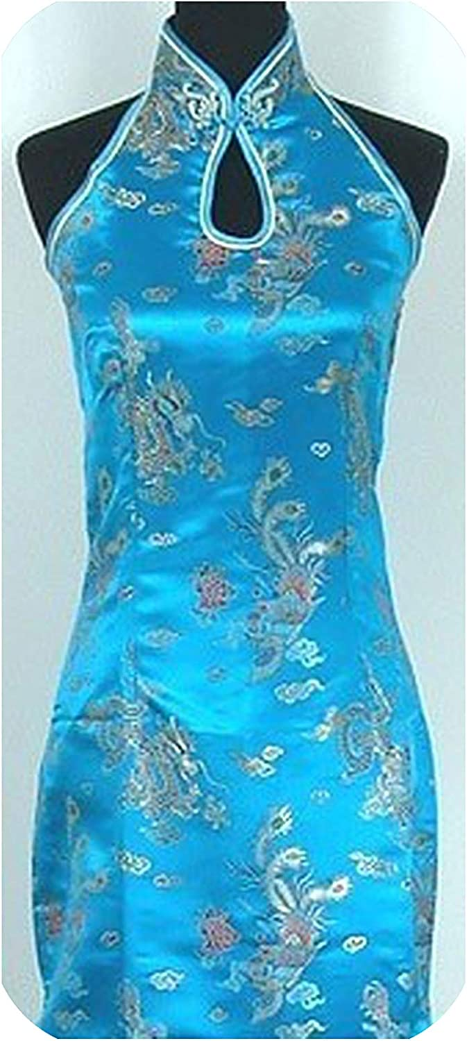 16 Color Backless Chinese Qipao Dresses Sleeveless Long Stretch Cheongsam