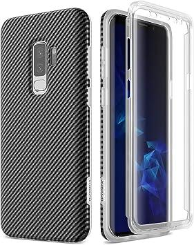 SURITCH Funda para Samsung Galaxy S9 Plus Silicona 360 Grados ...