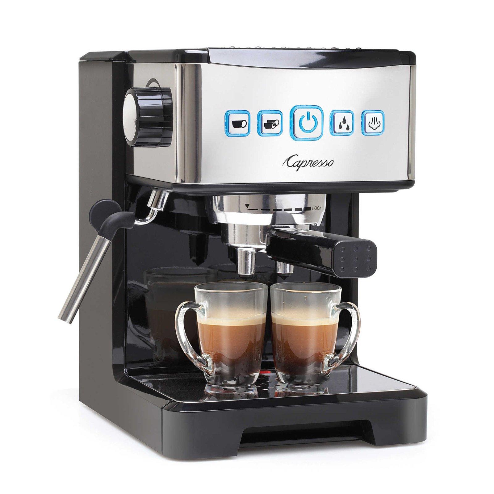 Capresso Ultima PRO Programmable Espresso & Cappuccino Maker Bundle (Certified Refurbished) by Capresso (Image #2)