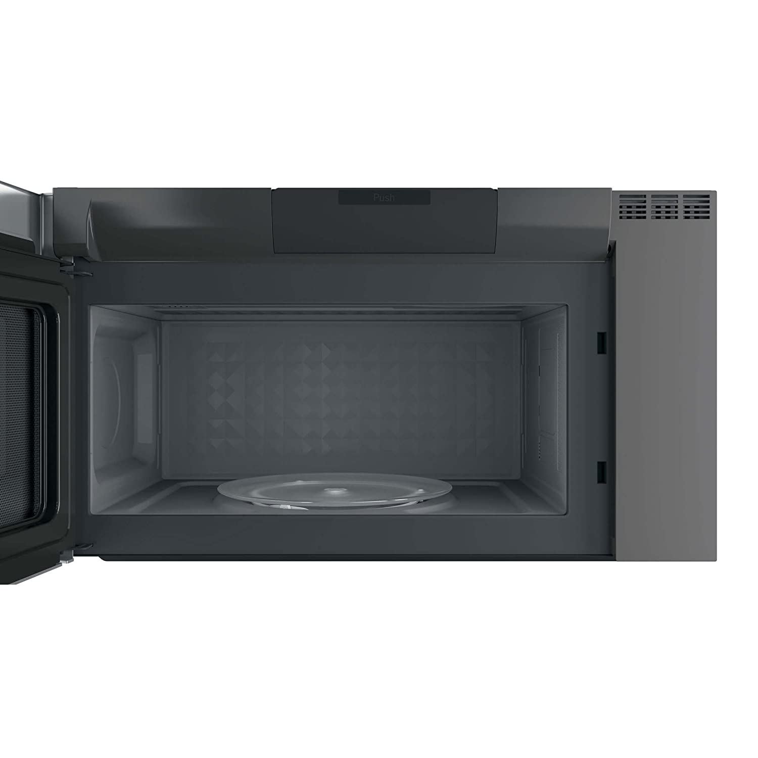 GE PVM9005SJSS Profile 2.1 Cu. Ft. Stainless Steel Over-the-Range MicrowaveReview