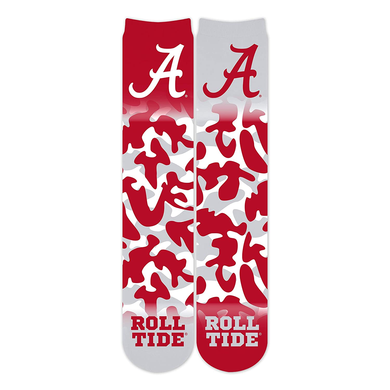 Wee Ones Unisex Adult NCAA Collegiate Logo Camo Crew Socks