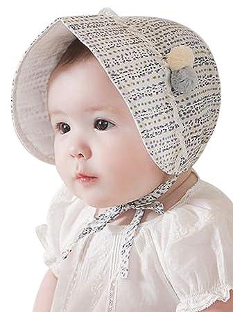 b3491b158c31e (ラボーグ) La Vogue ベビー ボンネット 帽子 ハット 中空 キッズ サンバイザー 子供 キャップ 赤ちゃん