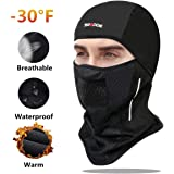 SGODDE Balaclava Ski Mask- Windproof Balaclava for Men Women Bike Face Mask Bicycle Balaclavas Cold Weather Face Mask in…
