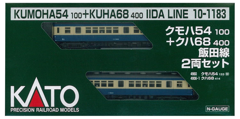 KATO de calibre N Kumoha 54100Tasu Kuha 68.400 Iida 2-car set 10-1.183 modelo de tren de ferrocarril