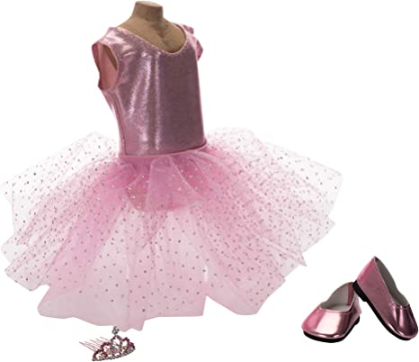 Amazon.es: Fairy Finery Ballerina - Falda de Tul para muñeca (45 ...