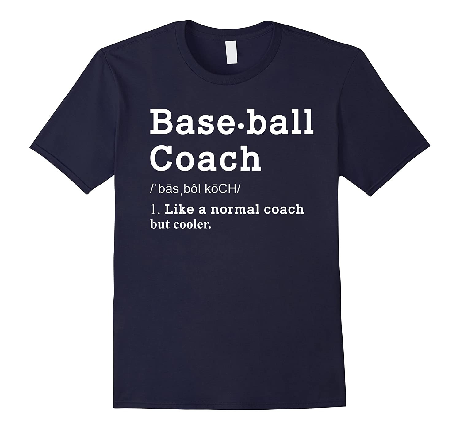 Baseball Coach Funny Definition Shirt Baseball Coach Gifts-TD
