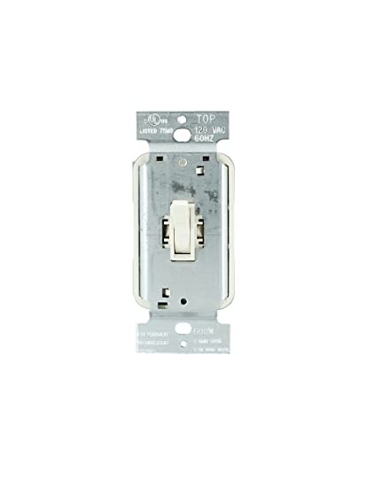 Legrand - Pass & Seymour T603LAV 3 Way Dimmer Switch, Toggle 600 ...