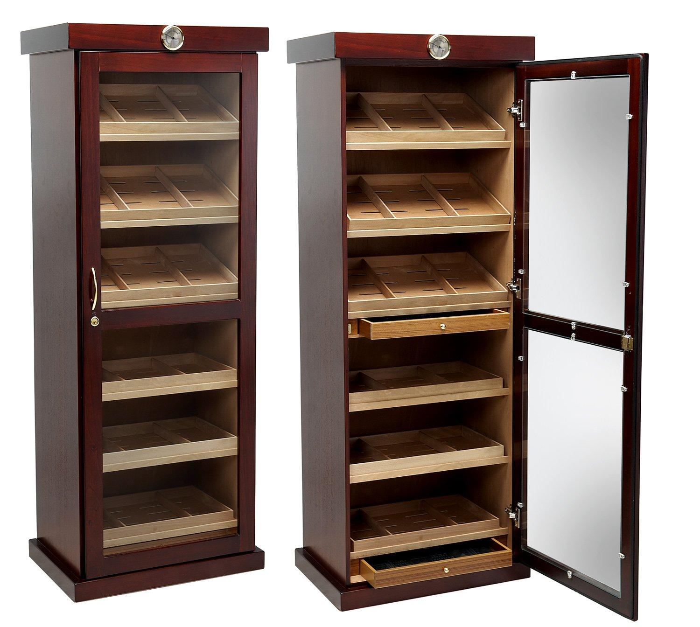 Prestige Import Group - The Barbatus Cabinet Humidor - Color: Cherry Finish by Prestige Import Group (Image #1)