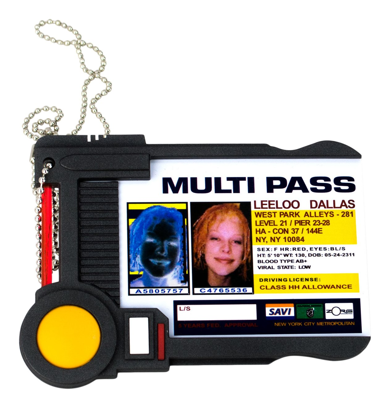 Das Fünfte Element Replik 1/1 Leeloo's Multipass