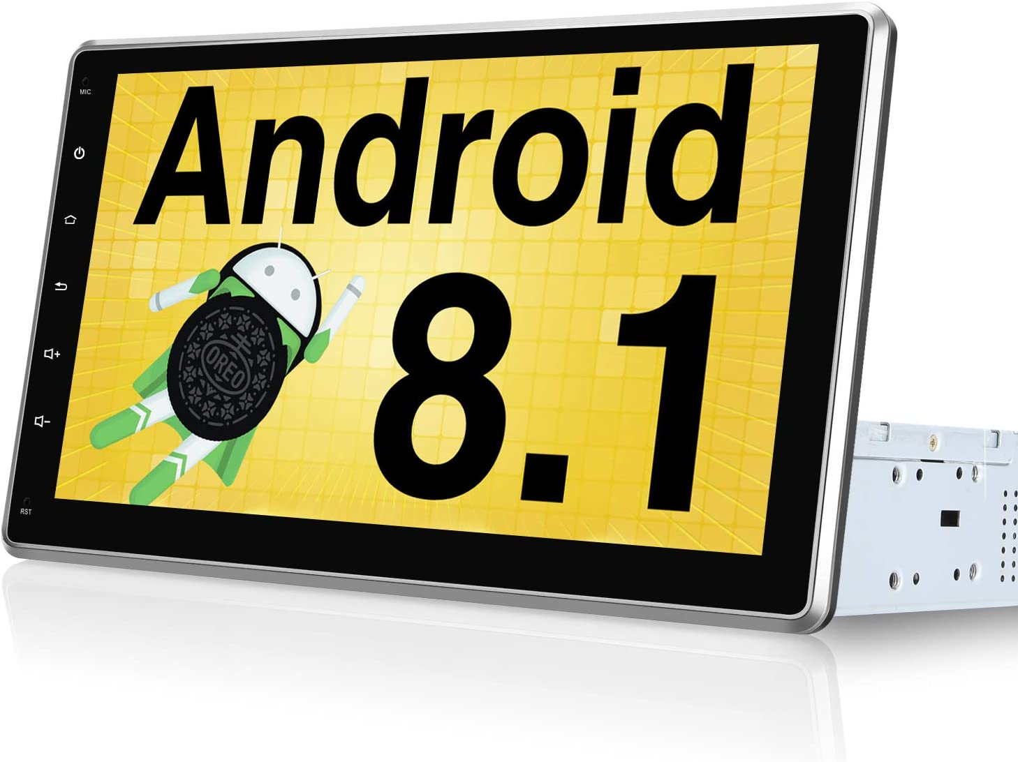 "Touchscreen USB WiFi Pumpkin 10.1/"" IPS Android 8.1 Autoradio 2 DIN GPS Navi DAB"
