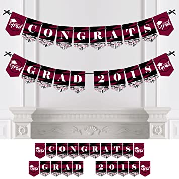 amazon com maroon grad best is yet to come burgundy graduation