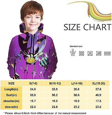 hainanqing Felpa da Bambino con Cappuccio Childrens Hoodies Sonic-The Hedg-Ehog 3D Print Unisex Pullover Hooded Sweatshirts for Boys//Girls//Teen//Kids childens Casual Tops