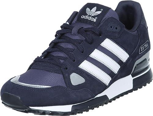 best service d8f08 833f3 adidas - ZX 750, Sneakers, Unisex, Blu (Dunkelblau-Weiß), 44.6666666666667   Amazon.it  Scarpe e borse