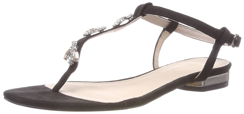 Bianco Toe Strap Sandal, Tongs Femme 20-49803