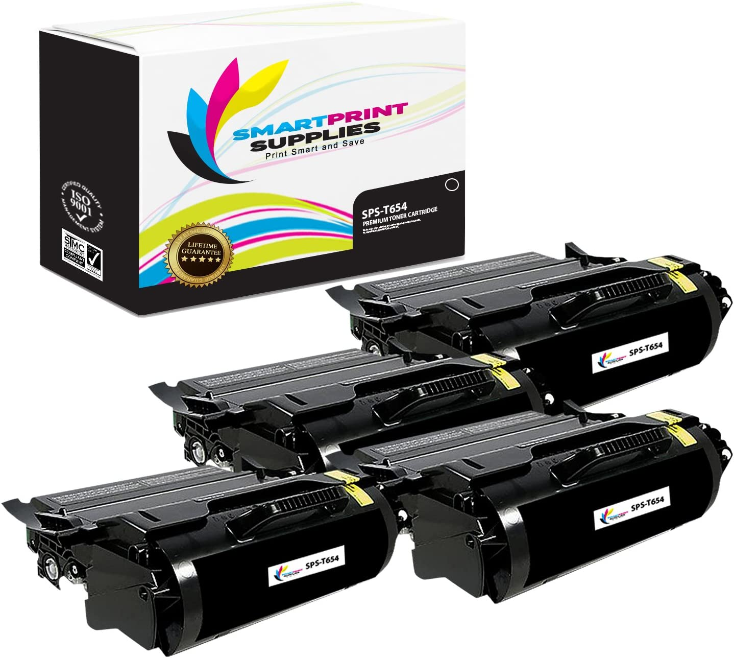 Black T654X21A Compatible Toner Cartridge 36000 Page Yield