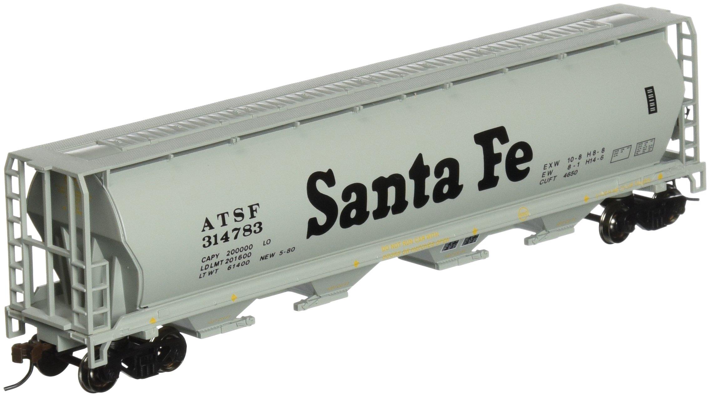Bachmann Trains Santa Fe 4 Bay Cylindrical Grain