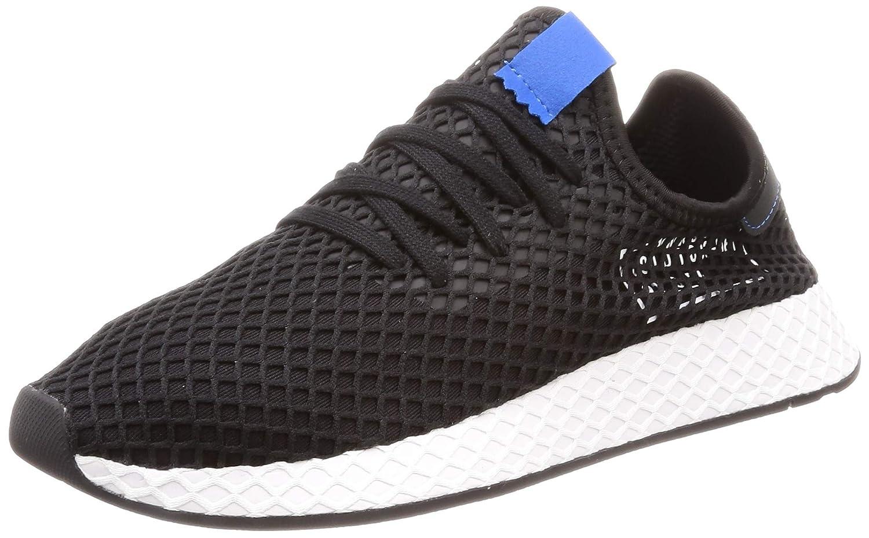 Adidas Herren Deerupt Runner Turnschuhe Schwarz eine Vielzahl von Waren