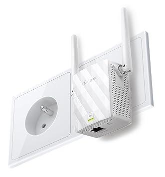TP-LINK repetidor Wi-Fi (compatibilidad Universal, instalación fácil) Blanco Wi-Fi N300: Amazon.es: Informática
