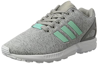 adidas ZX Flux W shoes grey heather turquoise