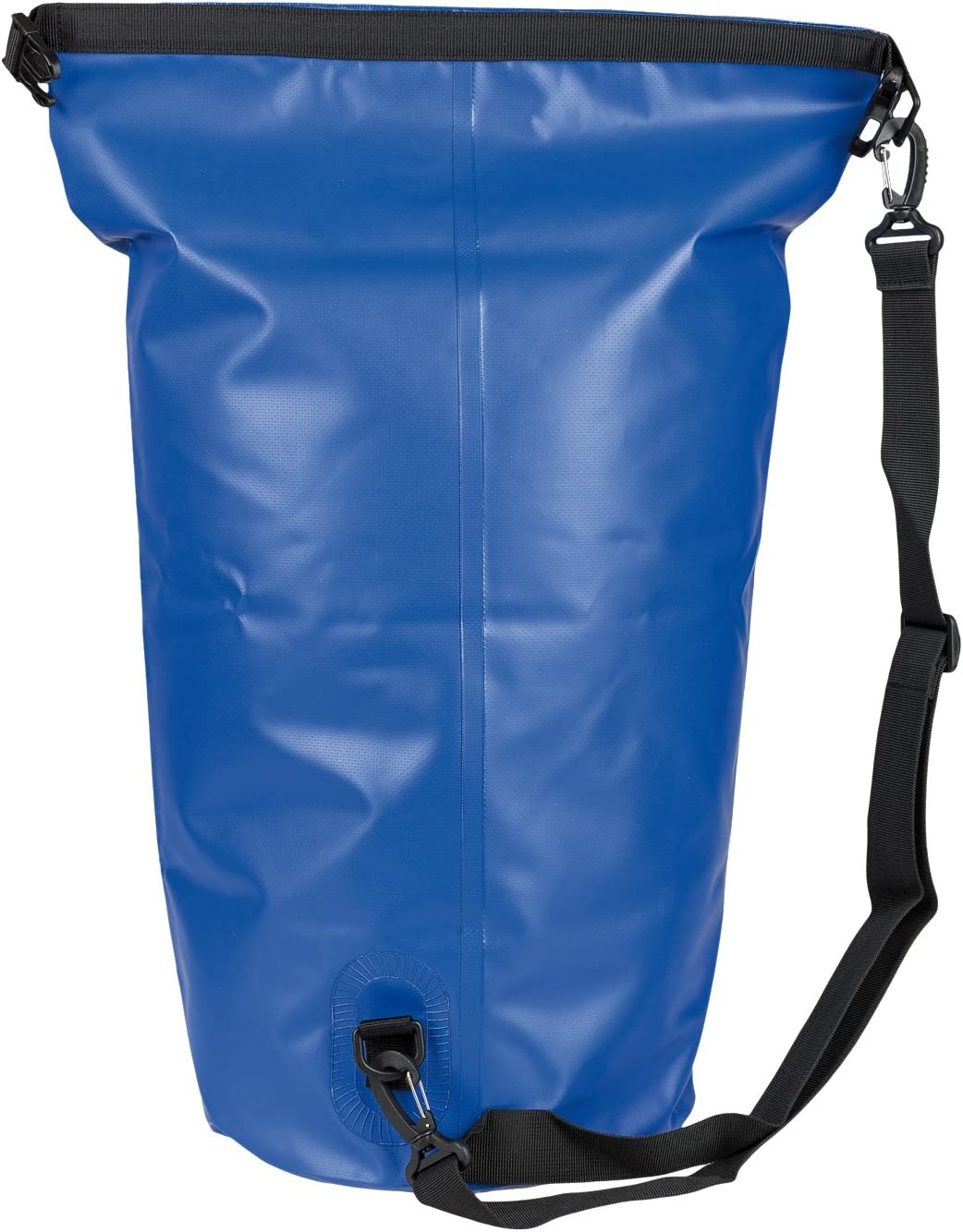 Idena 24001 Wassersportler und auf Reisen Seesack aus PVC ideal f/ür Camping 30 Liter wasserdichte Tasche mit Tragegurt blau