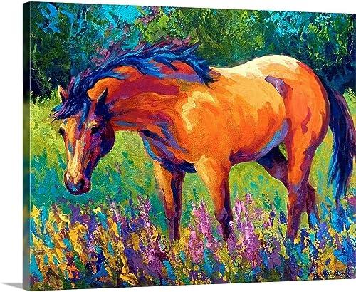 Dunn Mare Canvas Wall Art Print