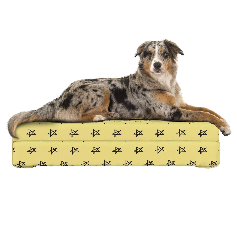 Amazon.com: Cama para mascotas Lunarable, cojín para perros ...