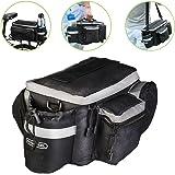 WOTOW Multi-functional Bicycle Sports Outdoor Rear Seat Trunk Bag Back Pannier Shoulder Handbag