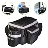 WOTOW Multi-functional Bicycle Sports Outdoor Rear Seat Trunk Bag Back Pannier Shoulder Handbag