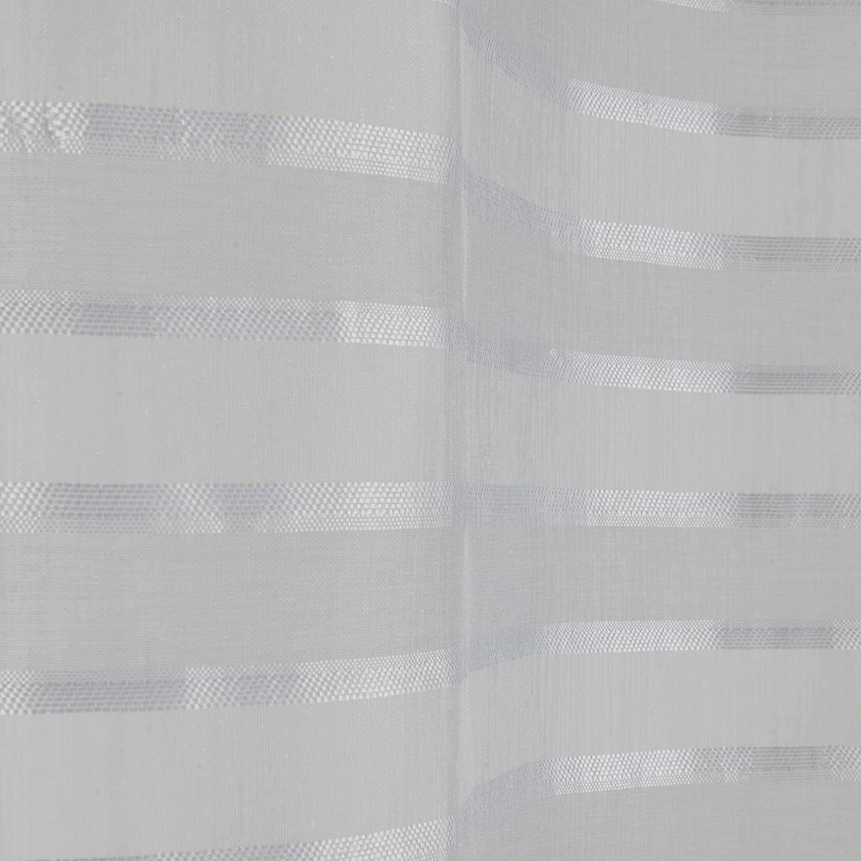 douceur dint/érieur paire droite passants 2x60x90cm voile sable riane anthracite