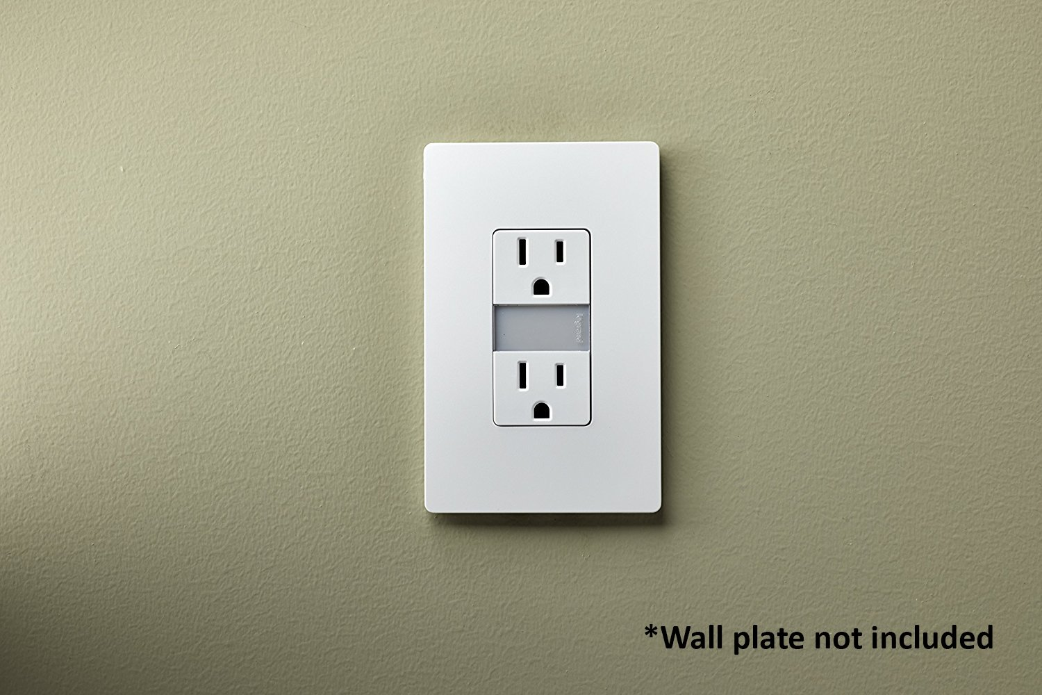Legrand Pass Seymour Ntl885trwcc6 Led Night Light With Two 15a Decora Triple Rocker Switch Single Pole Pig Tail Black 15 Amp Tamper Resistant Electrical Outlet White