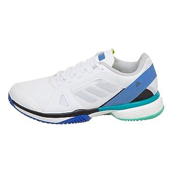 timeless design fa0bf 8ace7 adidas Performance - aSMC Barricade Boost Femmes Chaussure de Tennis (Blanc)
