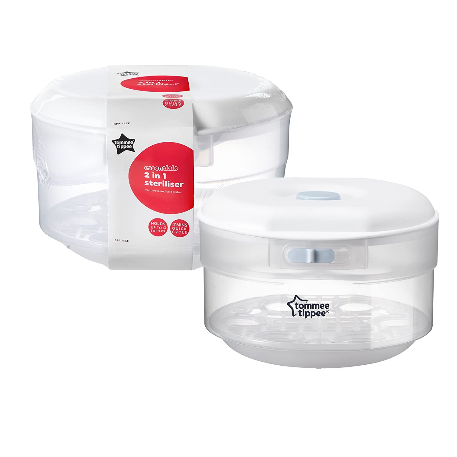 Tommee Tippee Microwave and Cold Water Steriliser