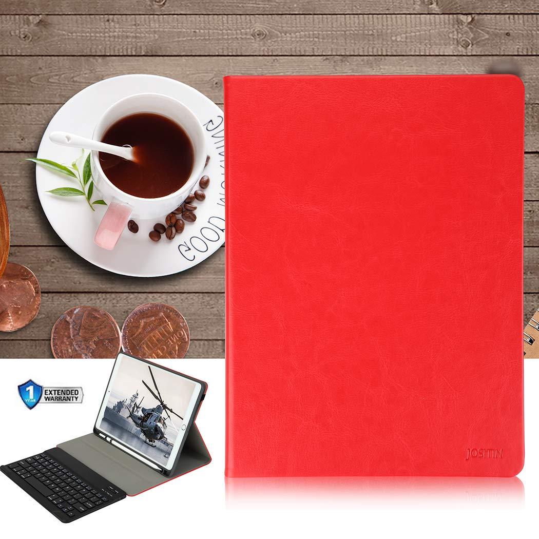 iPad 2017 JOSITIN iPad 9.7 Keyboard Case with Pencil Holder for ...