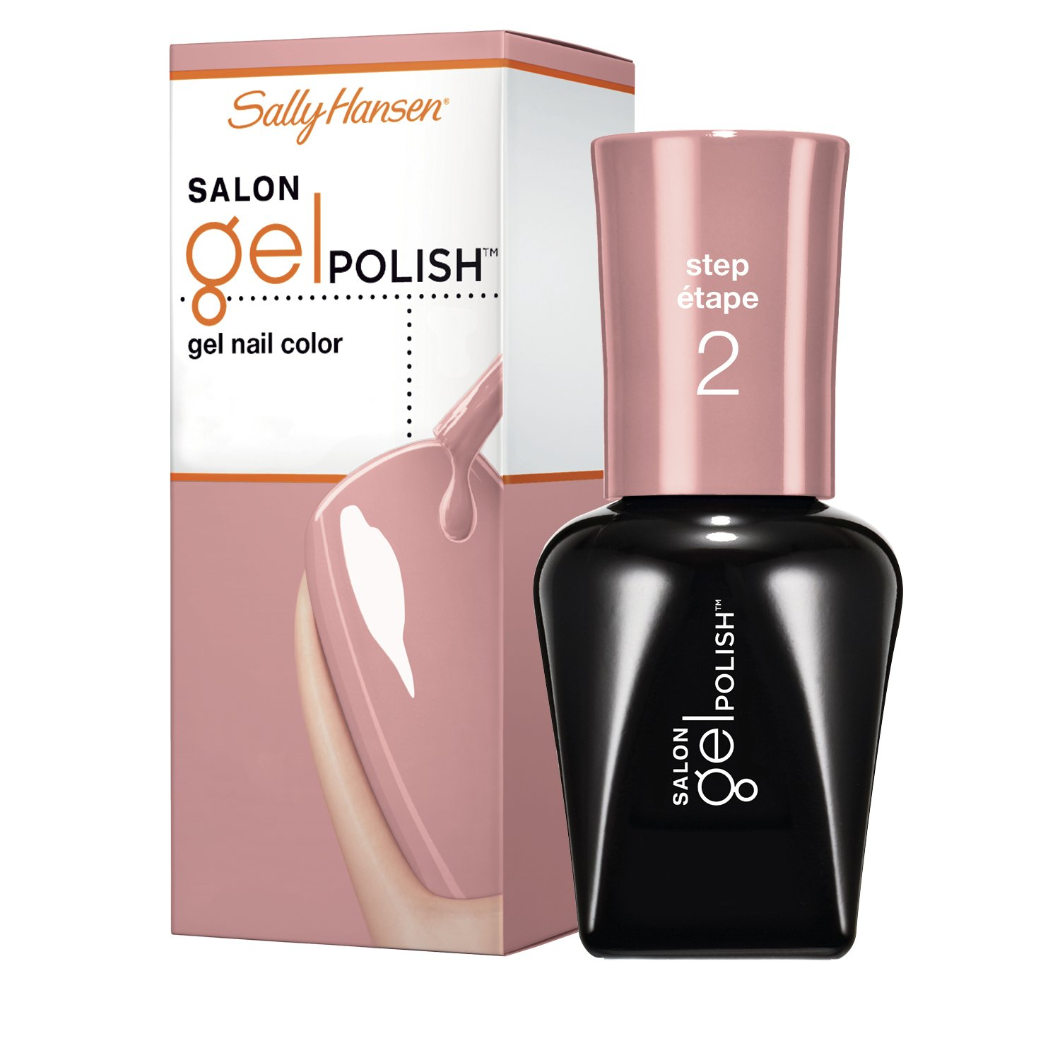Sally Hansen Salon Pro Gel, Pink Pong, 0.25 Fluid Ounce