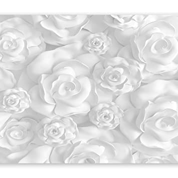 Extrem murando - Fototapete Blumen 3D Effekt 400x280 cm - Vlies Tapete CH94