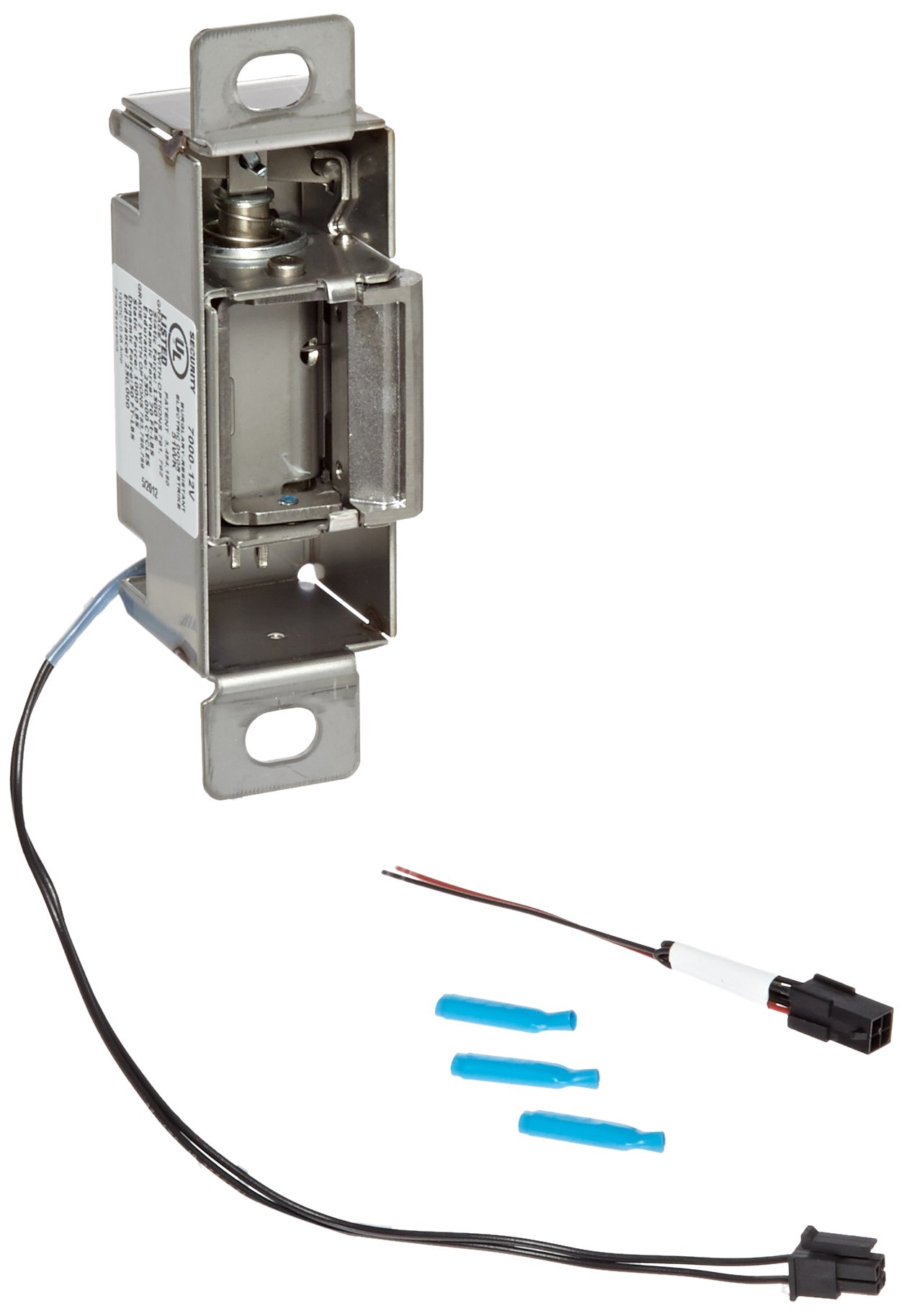HES 7000 Series Stainless Steel Highly Durable and Versatile Electric Strike Body, 12 Volts, Satin Stainless Steel Finish