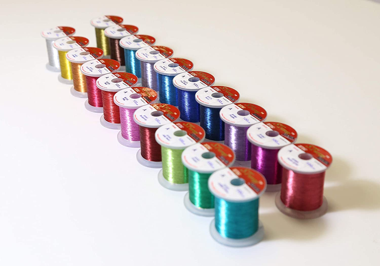 STWRAP Rod Wrapping Thread Metallic Vivid HITENA Regular Single Color