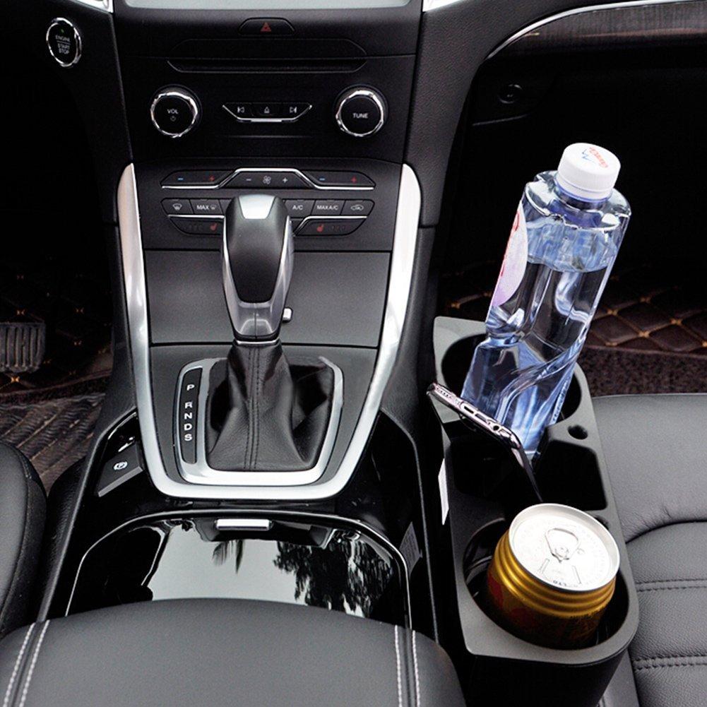 Yosoo Universal Auto cami/ón Limpieza de Asiento de Coche Soporte para Bebidas Taza de Bebida Puede Botella Soporte de Alimentos Caja de Almacenamiento Soporte