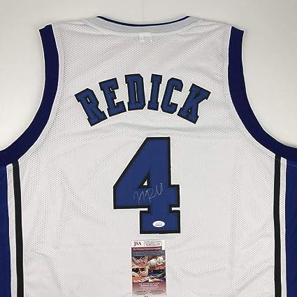 Autographed/Signed JJ J.J. Redick Duke