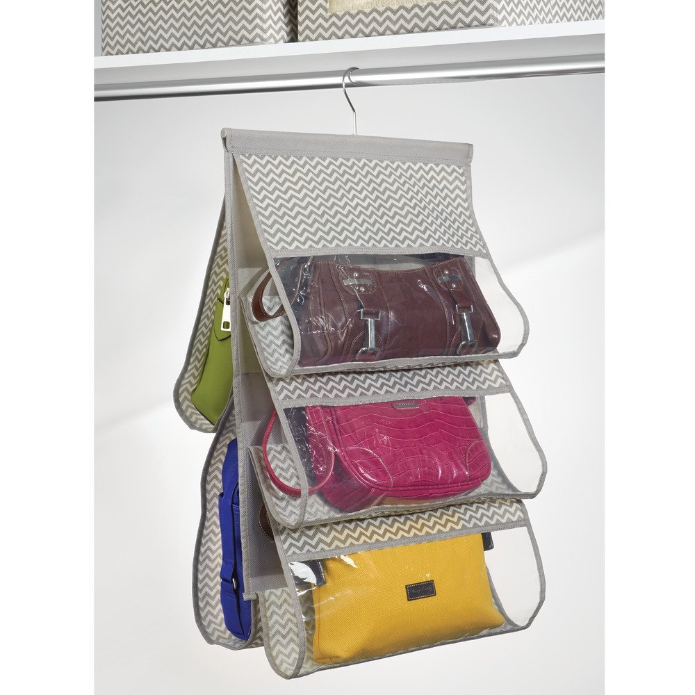5 Pocket Hanging Handbag Organizer