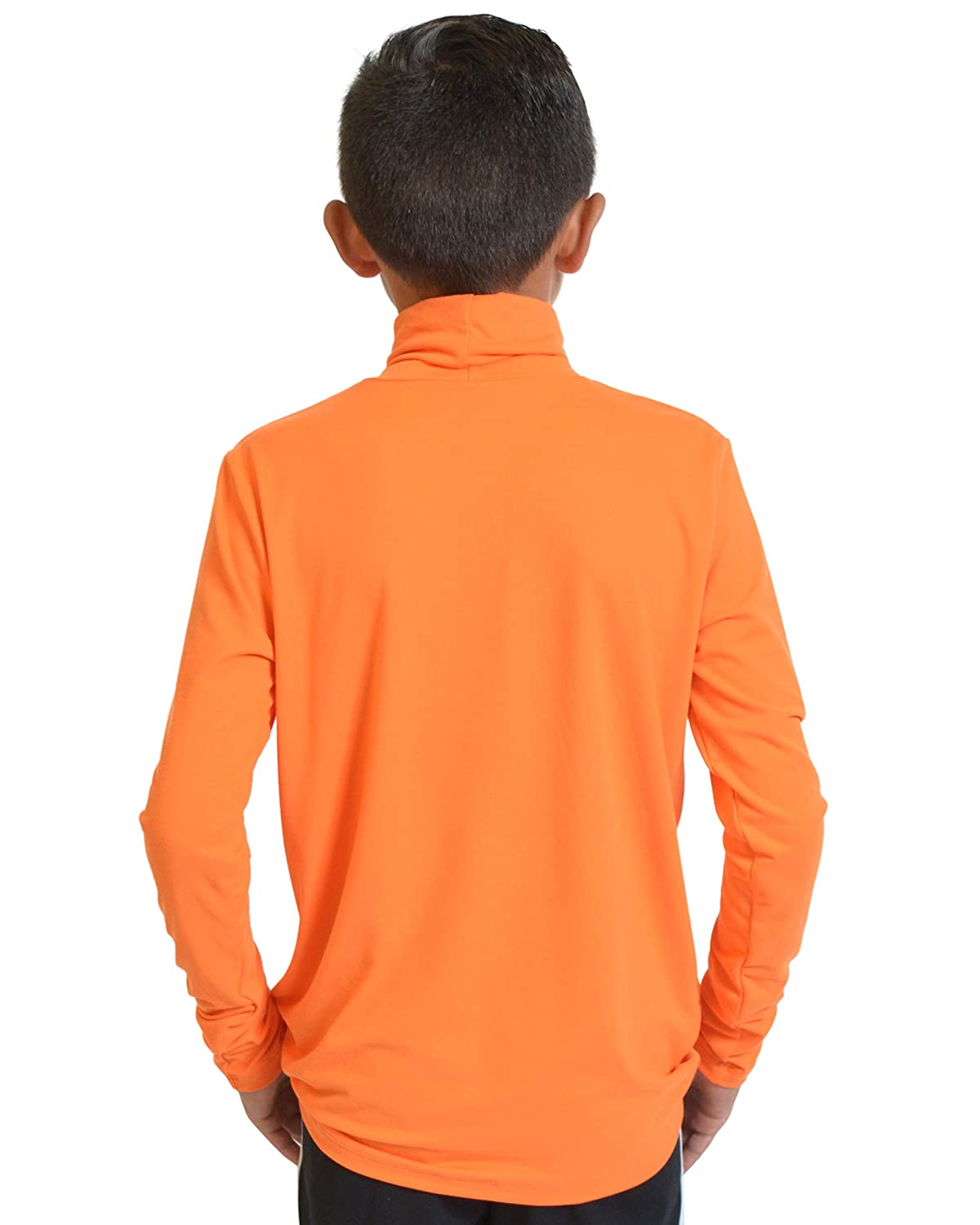 Stretch is Comfort Boys and Mens Long Sleeve Soft Turtleneck