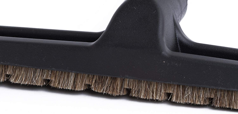 Cepillo Universal para suelo de parquet 30 – 38 mm x 300 mm. Boquilla enroscable con cerdas de verdadero pelo de caballo compatible con Vax, Hoover, Samsung, LG, Electrolux, Siemens, Philips, etc. Producto genuino de Green Label