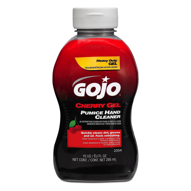 Gojo 2354 Cherry Gel Pumice Hand Cleaner - 10 oz.