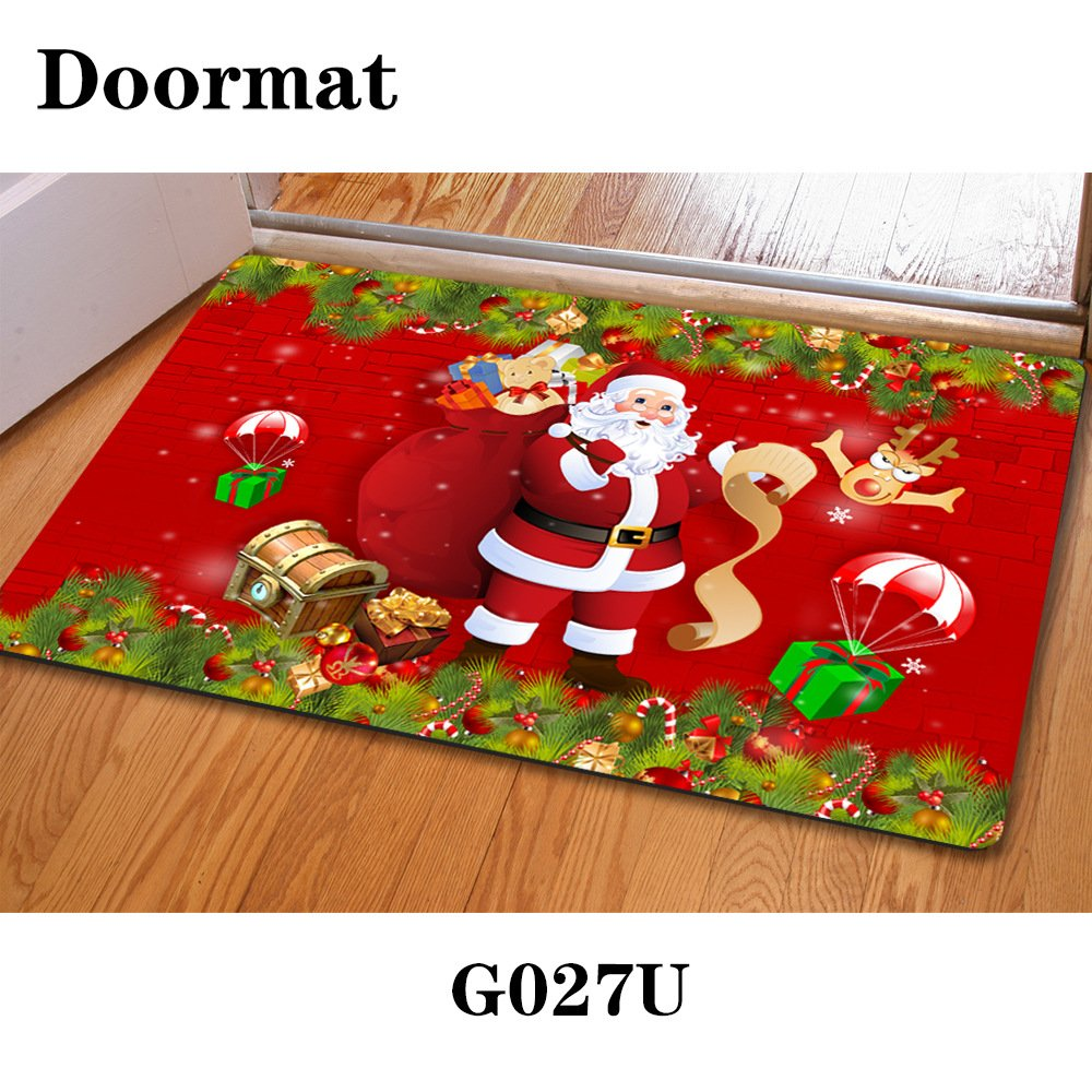 3D Kinder Schlafzimmer Mat Weihnachten Tür Staub matte Gummi slip ...