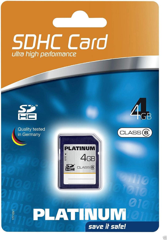 Platinum 4 Gb Class 6 Sdhc Speicherkarte 177109 Computer Zubehör