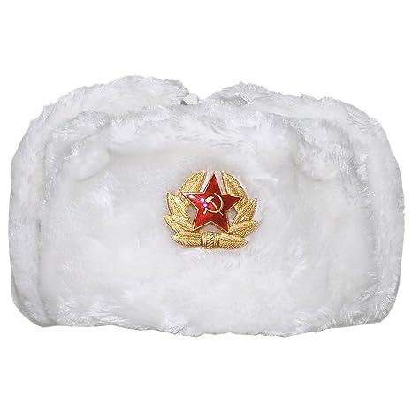 mfh inverno russo  MFH Inverno russo Cappellino bianco con Badge: : Sport e ...