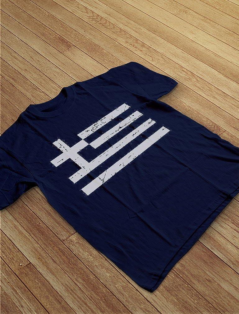 TeeStars Greece Flag Vintage Style Retro Greek Toddler//Infant Kids T-Shirt