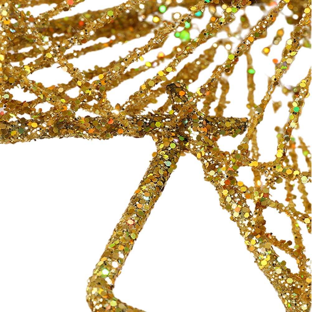 estrella para el /árbol de Navidad 8 puntos 30 cm metal dorado decoraci/ón para el /árbol de Navidad en casa estrella para /árbol de Navidad ARTOCT Decoraci/ón de estrella de Navidad