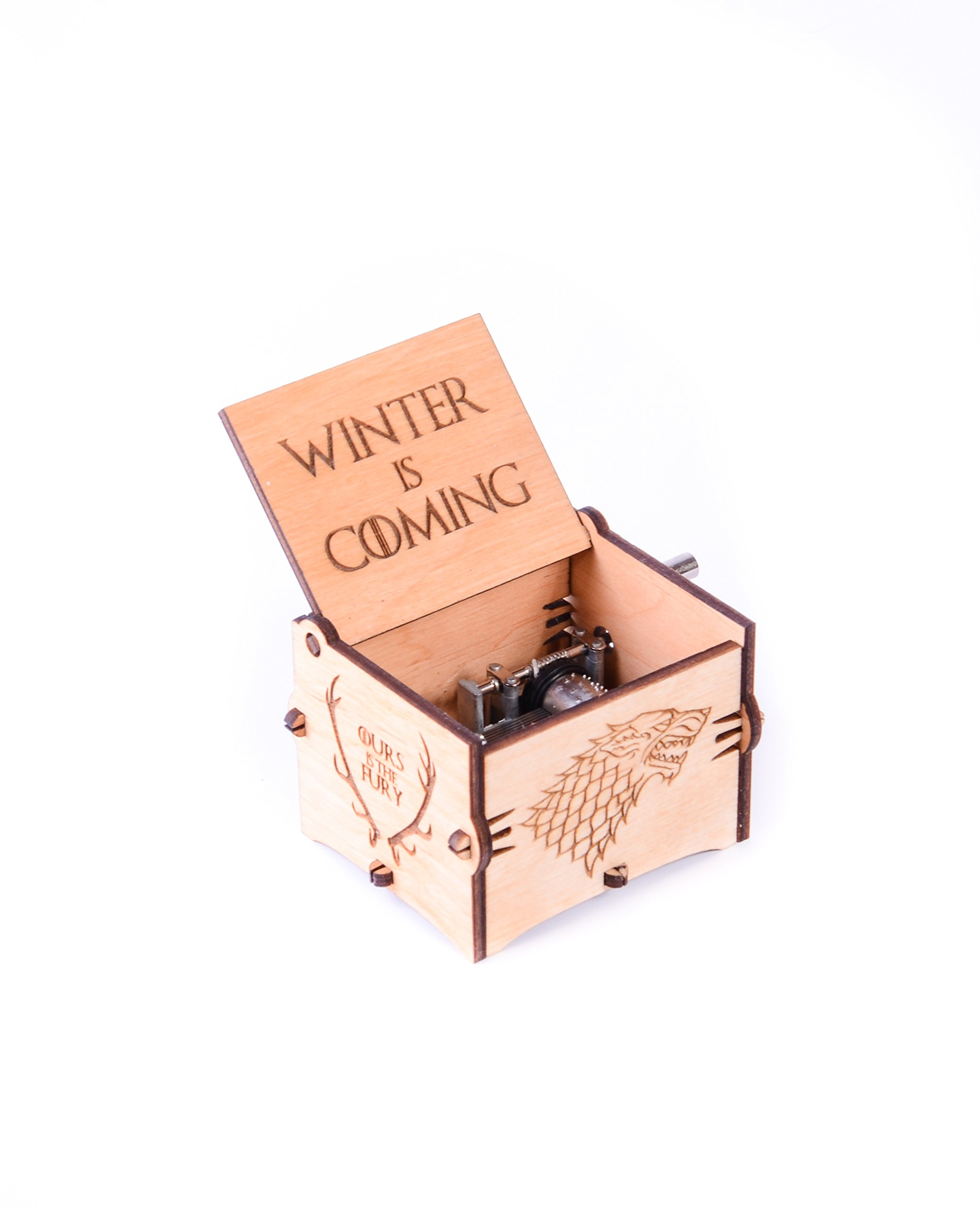 Wood Musical Box Music Box Main Theme Game of Thrones Game of Thrones Gift
